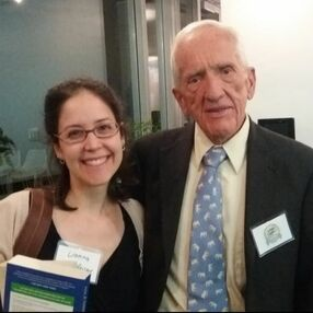 Lianna with T. Colin Campbell, PhD
